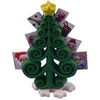 (*) Dollhouse Christmas Card Tree - Product Image