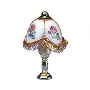 § Disc $3 Off - Table Lamp with Fringe - Product Image