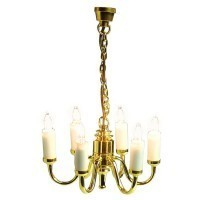 § Disc $14 Off - Dollhouse 6 Arm Chandelier - Product Image