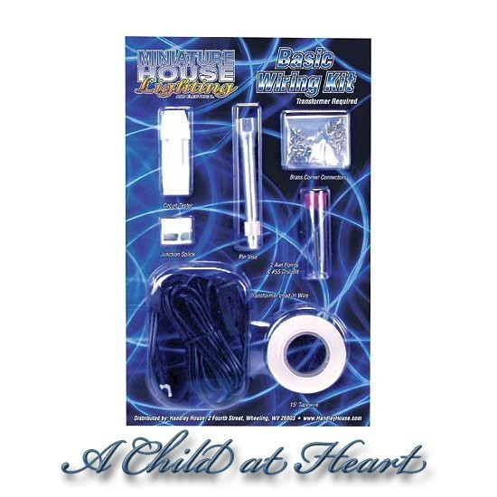 Dollhouse Basic Wiring Kit (No Transformer