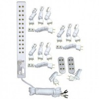 Dollhouse 15 pc Power Strip Wiring Kit - Product Image