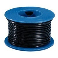24 Gauge 2 Conductor Black Wire - Product Image