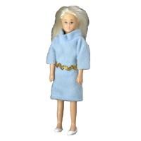 Vinyl DollHouse Doll - Blonde Mom - Product Image