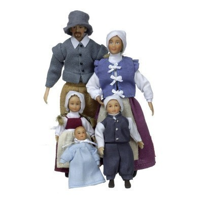 Colonial Phelps Dollhouse Family - Product Image