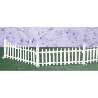 6 pc Picket Fence Set - Product Image