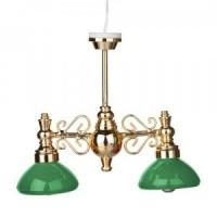 Dollhouse Billiard Table Light - Green - Product Image