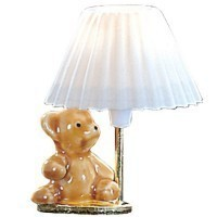 Teddy Bear Lamp - Product Image