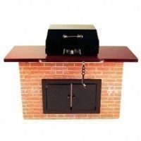 Dollhouse Backyard Barbecue By Reutter - Product Image