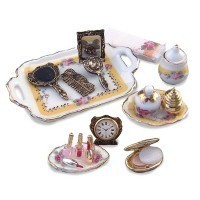 § Disc. $8 Off - Dollhouse French Rose Makeup Set - Product Image