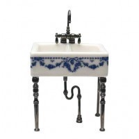 Small Dollhouse Kitchen Sink - Product Image