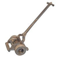 Old Fashion Lawn Mower - Silver - Product Image
