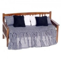 Dollhouse Walnut Daybed - Product Image