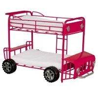 (*) Dollhouse Double Decker Bus Bunkbed - Product Image