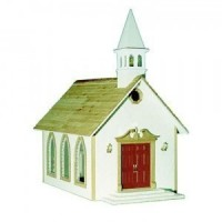Dollhouse Country Church (Kit) - Product Image