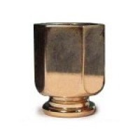 § Disc .60¢ Off - Solid Brass Ice Bucket - Product Image