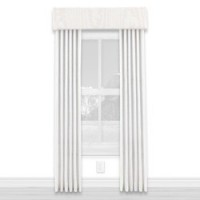 (§) Disc $7 Off - Dollhouse White Single Drape - Product Image