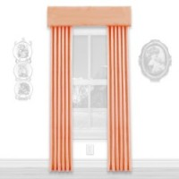 (§) Disc $5 Off - Dollhouse Peach Single Drape - Product Image