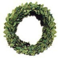 (*) Dollhouse Miniature Wreath Roping - Product Image