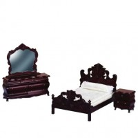 Dollhouse Fancy Victorian Bedroom - Product Image