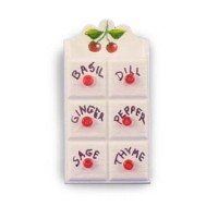 § Disc $1 Off - Dollhouse White Spice Rack (Kit) - Product Image