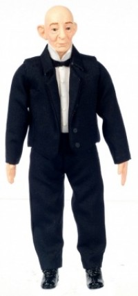 Poly Resin Doll - George The Butler - Product Image