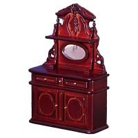 Dollhouse Mahogany Victorian Sideboard - Product Image