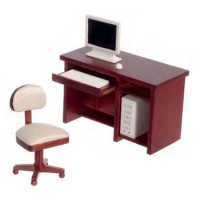 Dollhouse Computer Office - Product Image