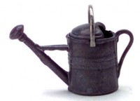 Dollhouse Galvanized Watering Can - Product Image