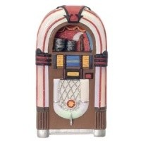 Dollhouse 1950's Jukebox - Product Image