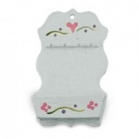 (*) Unfinished Dollhouse - Spoon Rack - Product Image