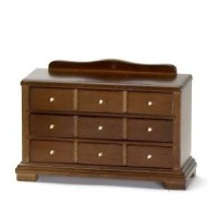 (§) Disc $2 Off - Dollhouse Walnut Dresser - Product Image