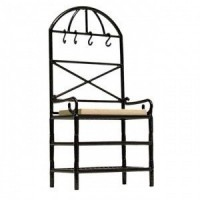 Dollhouse Bakers Rack in Black or White - Product Image