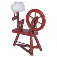 Dollhouse Spinning Wheels - Product Image