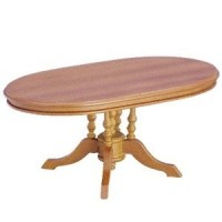 Dollhouse Pedestal Dining Table - Product Image