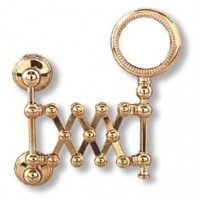 (*) Dollhouse Brass Extension Mirror - Product Image
