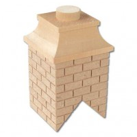 Sale $2 off - Partially Bricked Chimney - Product Image