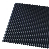 Dollhouse Black Tin Roof (PVC) - Product Image