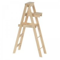 (§) Sale $1 Off - 5 inch Wooden Step Ladder - Product Image