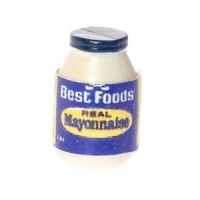 (**) Dollhouse Best Foods Mayonnaise Bottle - Product Image