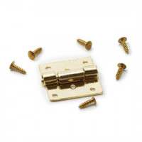 (**) Butt Hinges With Screws- Choice of Finish - - Product Image