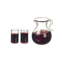 (*) Dollhouse 3 pc Iced Coffee Set - Product Image