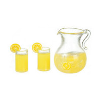 (*) Dollhouse 3 pc Lemonade Set - Product Image