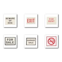 (**) Dollhouse Assorted Sign(s) - Product Image