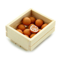 (*) Dollhouse Crate of Orages - Product Image