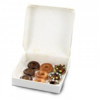 (*) Dollhouse Filled Bakery Donut Box - Product Image