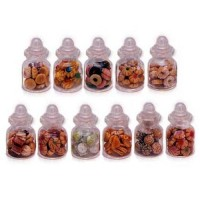 (**) Dollhouse Filled Bakery Jars - Product Image