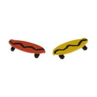 (*) Dollhouse Miniature Skate Board - Product Image
