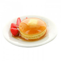(*) Dollhouse Pancakes with fruit - Product Image