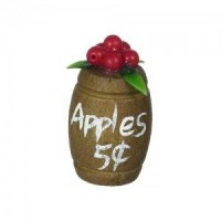 (**) Dollhouse Small Apple Barrel - Product Image