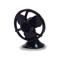 (*) Unfnished Retro Style - Desk Fan - Product Image